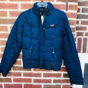 Hollister Puffer Down Feather Gilles Coat